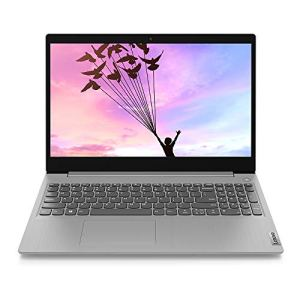 Lenovo IdeaPad Slim 3i Intel Celeron N4020 15.6-inch HD Thin and Light Laptop (4GB/256GB SSD/Windows 10/Platinum Grey/1.7Kg), 81WQ003LIN