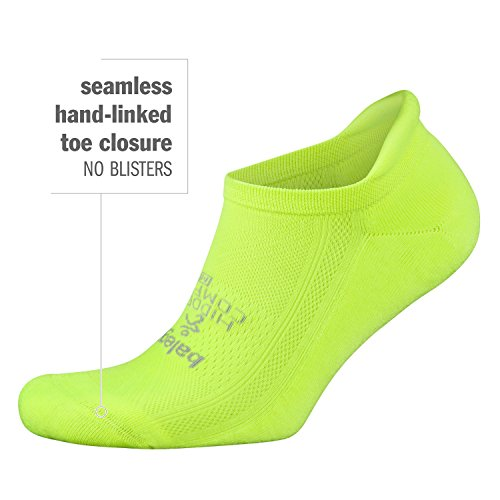 41PsFizPZbL Hand-linked seamless toe closure; Heel tab helps prevent the sock from slipping into your running shoe New and improved elastane throughout for a more structured fit Reinforced heel and toe; Mesh construction for ventilation