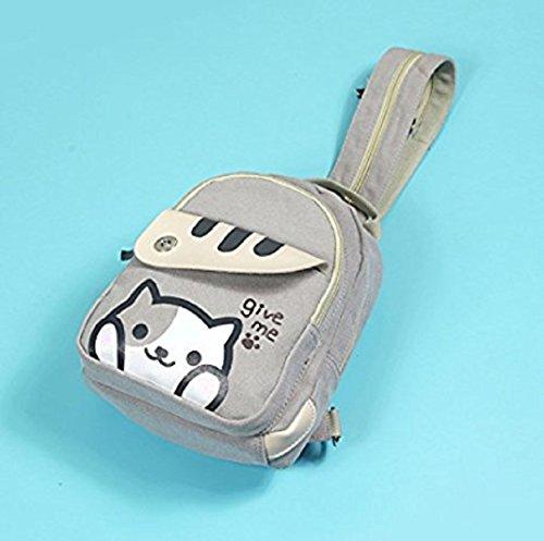 ... spionee Japanese Game Neko Atsum Cute Cat Anime Multifunctional Shoulder  Bag df6450e0f7568