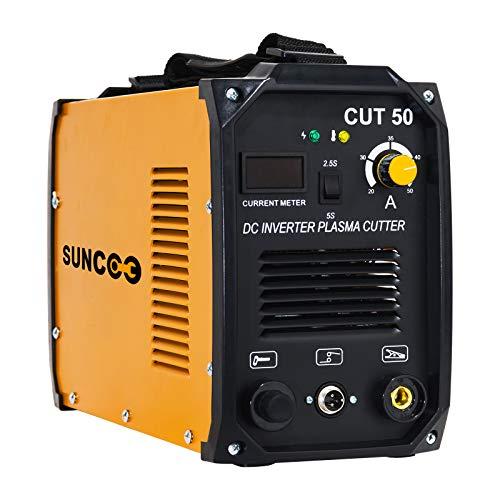 SUNCOO Cut 50 Plasma Cutter Electric DC Inverter...