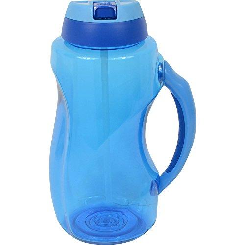 Cool Gear 63 oz Dual Wave Water Bottle, Blue
