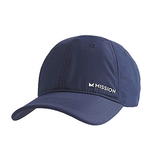 MISSION Performance Cooling Hat, Navy/White