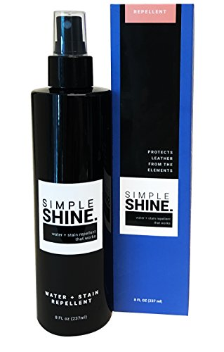 Premium Water Repellent Spray and Stain Protector Waterproofing for Shoes, Boots, Leather Bags, and More | Luxury Brand Waterproofer | Waterproof Made in USA