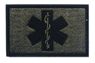 Antrix four Items EMT Star of Life Medical Medic Cross Army Morale Patch Hook & Loop Tactical Morale Patches – three.15″x2″ deal 50% off 41QA7PykT6L