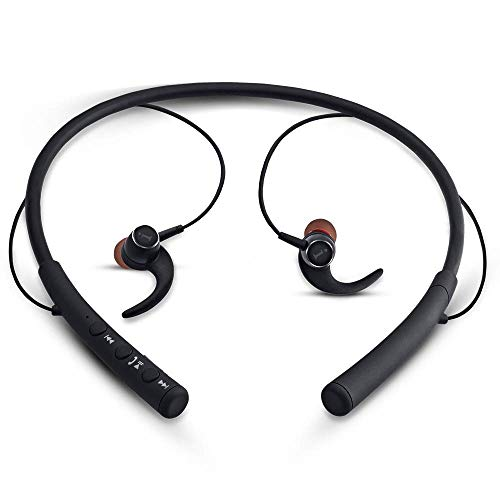 iBall EarWear Base BT 5.0 Neckband Earphone with Mic and 12 Hours Battery Life (Black) 207