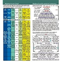 Alkaline Food Chart 8 inch x 8 inch