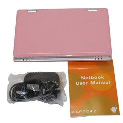41QN9Y4DHCL - NEW 4Gb 7 inch Pink Mini Laptop Netbook. Android 2.2. Latest Software. Latest build.