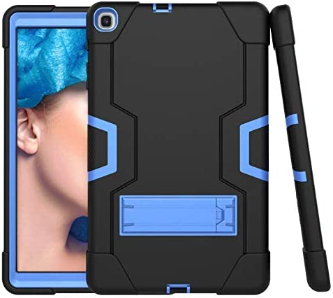 Amazon Com Cantis Galaxy Tab A 10 1 Case 2019 Model Sm T510 T515 Slim Heavy Duty Shockproof Rugged Case High Impact Full Body Protective Case For Samsung Galaxy Tab A 10 1 Inch 2019 Release Black Blue