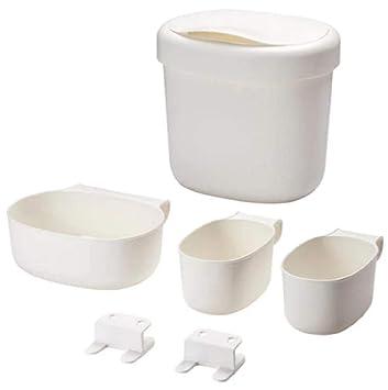 Ikea 990105 Corbeilles Table à Langer Plastique Blanc 27 X 23 X 26 Cm
