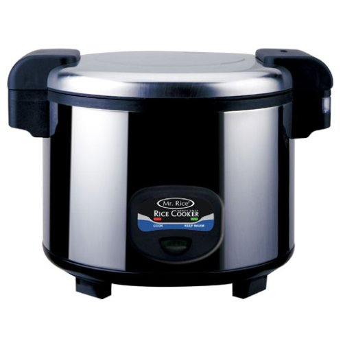 Sunpentown SC-5400S 35-Cup Stainless-Steel Heavy-Duty Rice Cooker
