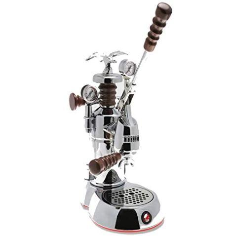La-Pavoni-ESPAB-16-Esperto-Abile-Espresso-Machine-Chrome-16-Cups-Capacity-Larger-38-Ounce-Boilers-with-Mounted-Pressure-Gauge