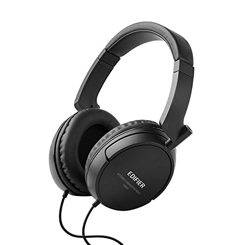 Edifier H840 Audiophile Over-the-ear Headphones - Hi-Fi Over-Ear Noise-Isolating Audiophile Closed Monitor Stereo Headphone - Black