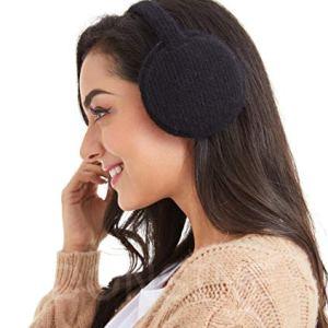 Earmuffs for Women Classic Foldable Ear Muffs Winter Accessory Outdoor Ear Warmer