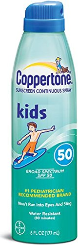 Coppertone Kids Sunscreen Continuous Spray – SPF 60