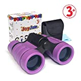 Joyjam Toys for 3-6 Year Old Girls, Girls Binoculars for Kids Pocket Small Binoculars Gifts for Girls Age 5-8 Birthday Gifts Party Favors for Kids Purple