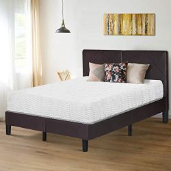 Olee Sleep 10 inch Omega Hybrid Gel Infused Memory Foam and Pocket Spring Mattress (Queen)