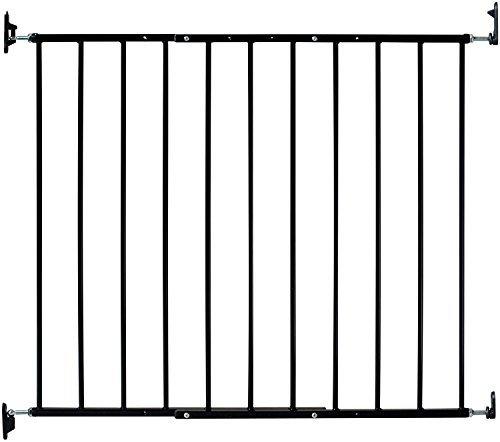 Kidco Safeway Gate, Top of Stairs Gate, Black