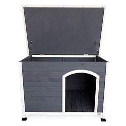 A4Pet Outdoor Wooden Dog House