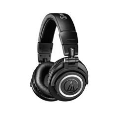Audio-Technica ATH-M50XBT Wireless Bluetooth Over-Ear Headphones (Black)