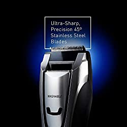 Panasonic Body and Beard Trimmer for Men ER-GB80-S, Cordless/Corded Hair Clipper, 3 Comb Attachments and 39 Adjustable Trim Settings, Washable  Image 3