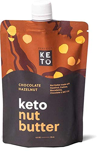 Perfect Keto Nut Butter Snack: Fat Bomb to Support Weight Management on Ketogenic Diet. Ketosis Superfood Raw Nuts|Cashew Macadamia Coconut Vanilla Sea Salt 1