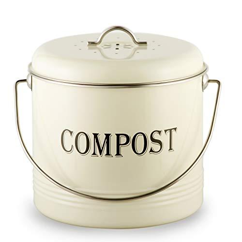 Vintage Kitchen Compost Bin
