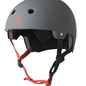 Triple Eight 3013 Dual Certified Helmet, Large/X-Large, Gun Rubber