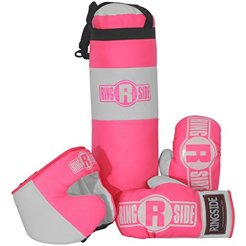Ringside Kids Boxing Gift Set (2-5 Year Old), Pink