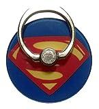 Superman Shield Phone Ring Fan Accessory