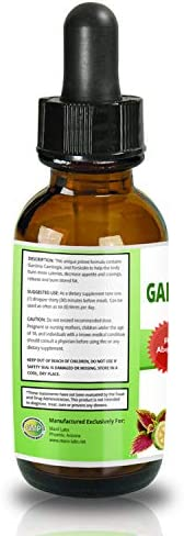 Garcinia CAMBOGIA Liquid Drops Plus FORSKOLIN - New - Powerful 70% HCA Natural Appetite Suppression Control Liquid Diet - Best Weight Loss Supplements That Work - 2oz Bottle Full 30 Day Supply 8
