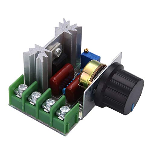 AS RETAILS AC 220V 2000W SCR Voltage Regulator Dimming Dimmers Speed Controller Thermostat