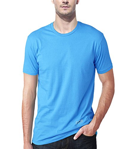 AWG - All Weather Gear Men's Polyester Dry Fit Round Neck T-Shirt - Pack of 4 6