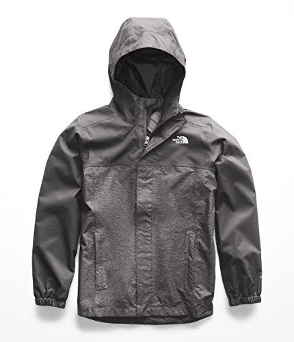 The North Face Kids Boy's Resolve Reflective Jacket (Little Kids/Big Kids) Graphite Grey Heather X-Small