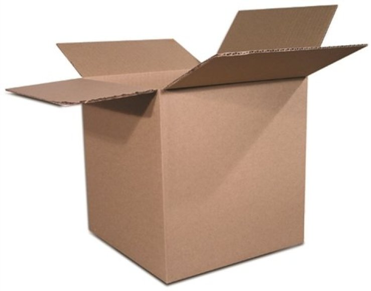 The Packaging Wholesalers Shipping Boxes, 6 x 6 x 6 Inches, 25-Count (BS060606)