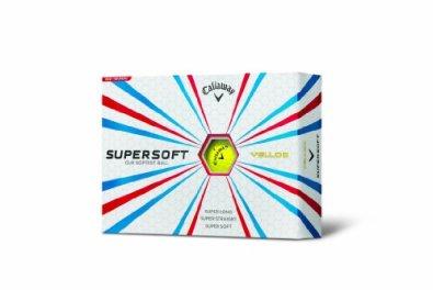 Callaway Super Soft Golf Balls, Yellow (Pack of 12)