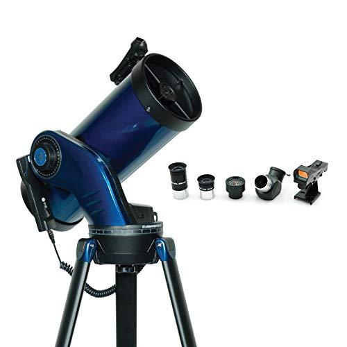 Meade Instruments 218005 StarNavigator NG - Telescopio Maksutov Cassegrain, Color Negro