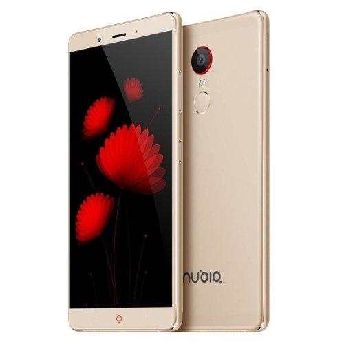 ZTE Nubia Z11 Max 64GB 6.0 Inch Android 5.0 Smartphone, MSM8976 Octa Core, 4GB RAM GSM & WCDMA FDD-LTE (Gold)