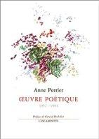 Oeuvre poétique (1952-1994) par Perrier