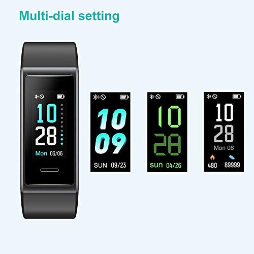 Willful Fitness Tracker 2020 New Version IP68 Waterproof, Fitness Watch Heart Rate Monitor with Calories/Step Counter Sleep Tracker Stopwatch Health Tracker Fit Watch for Men Women Kids 11