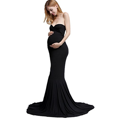 bf1bf9e97e733 ... Maxi Dresses / Women's Elegant Fitted Boob Tube on Top Maternity  Photography Dress. Sale! 🔍. On Sale