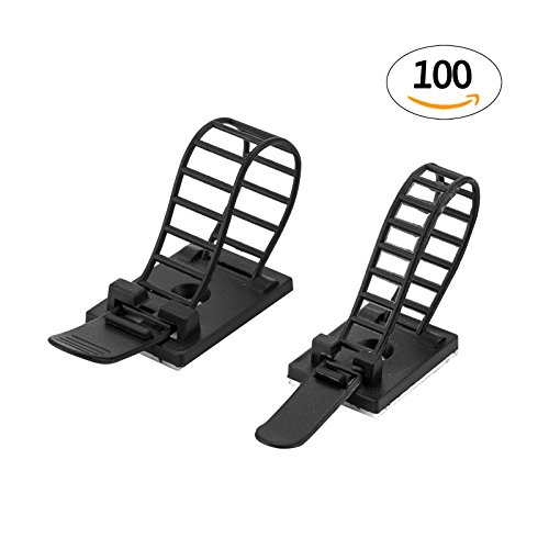 Adhesive Cable Clips - Car Cable Organizer - Cable Wire Management ...