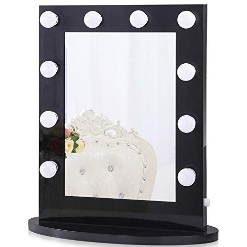 Chende Vanity Mirror with Light Hollywood Makeup Mirror Wall Mounted Lighted Mirror + 14...