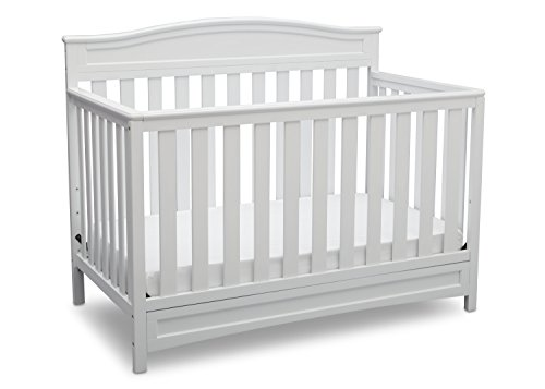 #3 - Delta Children Emery 4-in-1 Convertible Baby Crib
