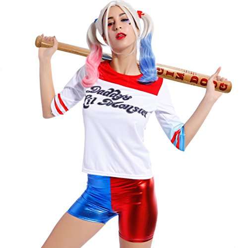 Fashoutlet-Harley-Quinn-Suicide-Daddys-Lil-Monster-Costume-T-Shirt