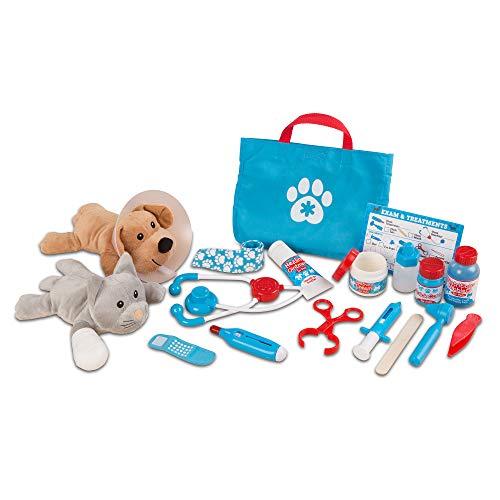 24-Pc Melissa & Doug Examine & Treat Pet Vet Play Set – LOW PRICE