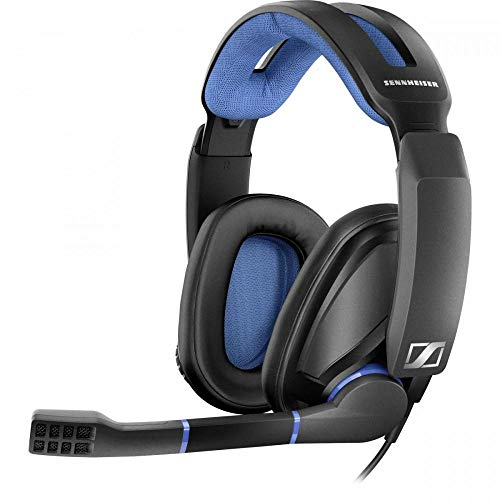 Sennheiser GSP 300 Gaming Headset with Noise-Cancelling Mic, Flip-to-Mute, Comfortable Memory Foam Ear Pads, Headphones for PC, Mac, Xbox One, PS4, Nintendo Switch, and Smartphones