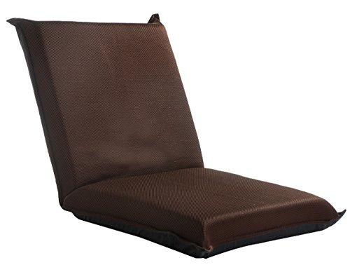 Pleasant Merax Floor Chair Lazy Man Sofa Chair Home Essential Lovers Folding Sofa Chair Brown Dustin A Purtan Squirreltailoven Fun Painted Chair Ideas Images Squirreltailovenorg