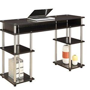 Convenience Concepts No Tools Student Desk, Espresso