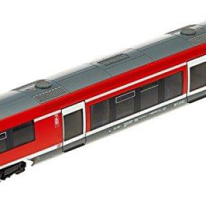 Rivarossi HR2717 DB Regio Diesel Engine, BR 641″ 3-Stroke Model Railway, Red/Grey 41S54dl3doL