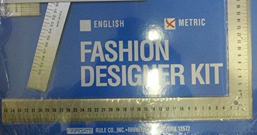 Fairgate Fashion Designer Rule Kit In Cm 15 202 By Fairgate Lance Publishing Studio